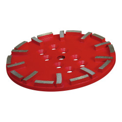Plateau diamant Ø250mm rouge